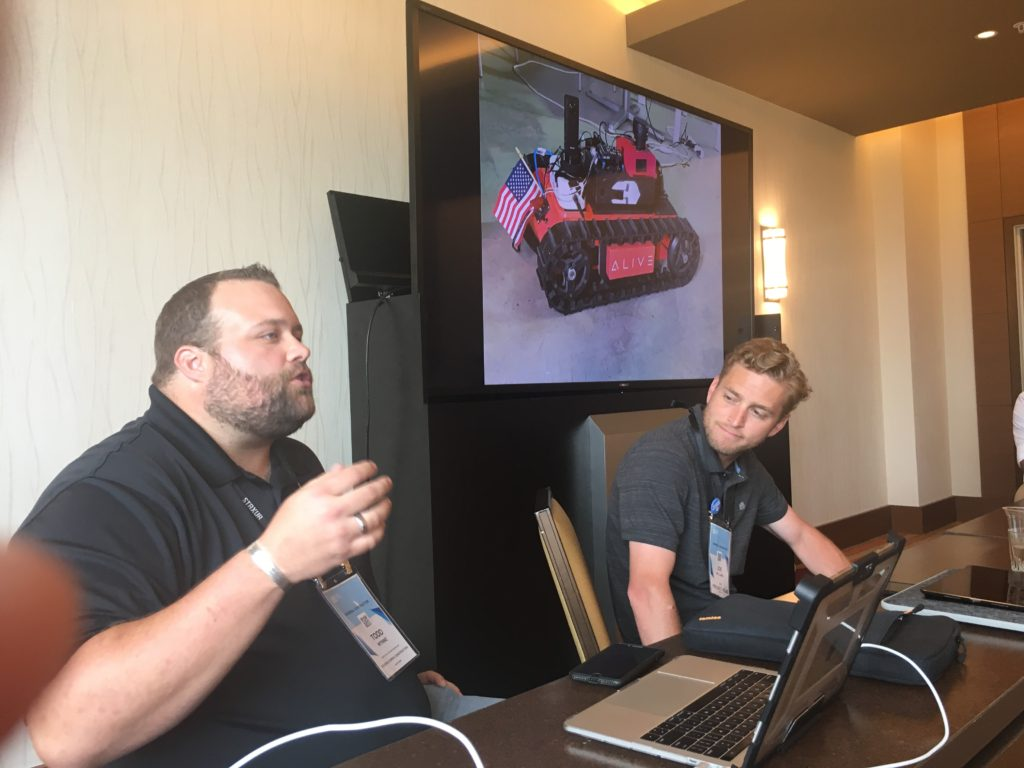 Todd Wynne Joe Williams Project Atlas Bluebeam Extreme Roundtable Alive.AI Rover